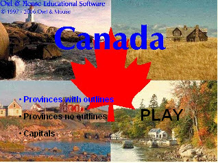 map puzzle game the owl canada